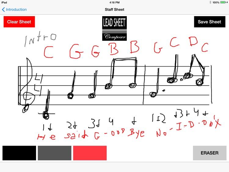 Lead Sheet Composer screenshot-3