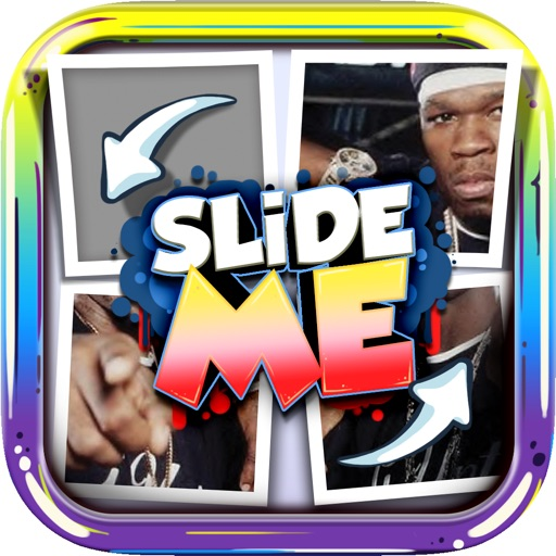 Slide Me Puzzle : Hip Hop The Picture Characters Quiz Free Games