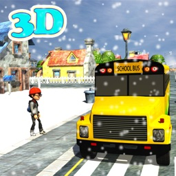 Winter School Bus Parking Simulator