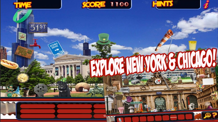 New York to Chicago Quest Travel Time – Hidden Object Spot and Find Objects Differences screenshot-3