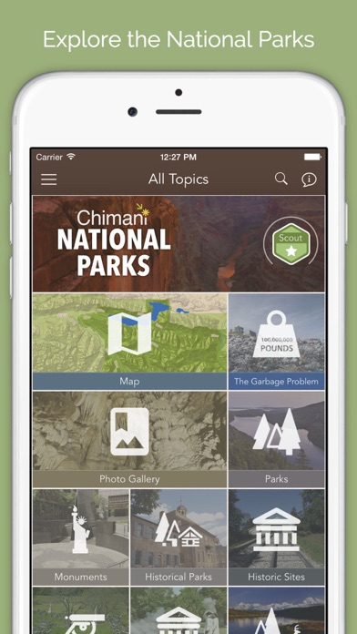 Chimani - National Park Guides Screenshot