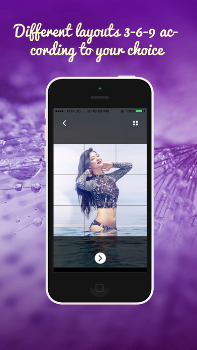 IGGrids –  Crop Your Photos In Banners / Tiles For Instagram Profile View screenshot three