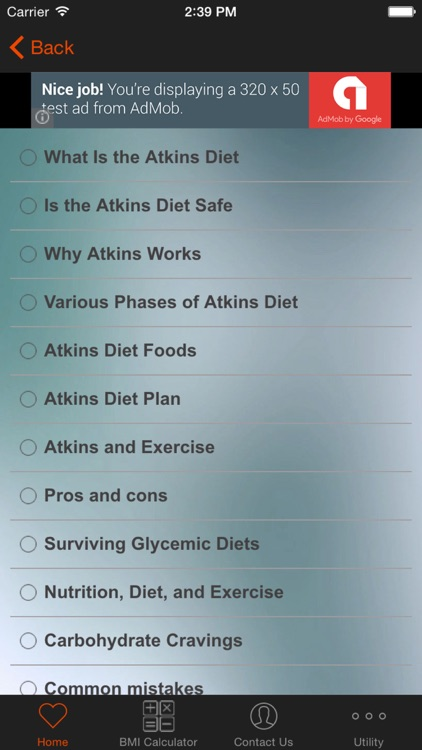 Easy Atkins Diet Recipes and Exercise Plan screenshot-3
