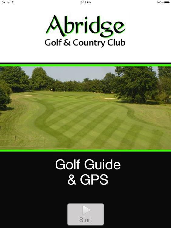 Abridge Golf Course & Country Club Buggy