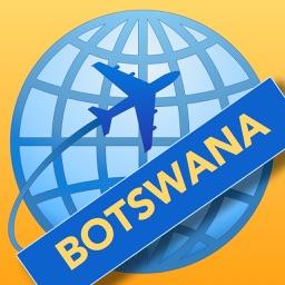 Botswana Travelmapp