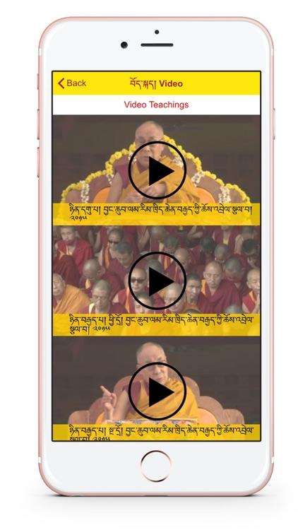 Teachings of His Holiness the Gyalwa Rinpoche screenshot-3
