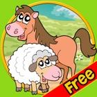 prodigious farm animals for kids - free icon
