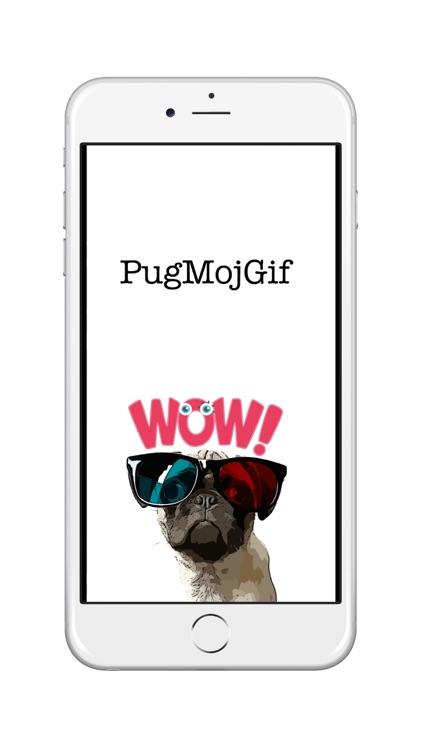 PugMojGif - Animated Pug Gifs for messaging