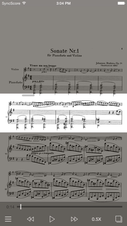 Brahms Violin Sonatas screenshot-0