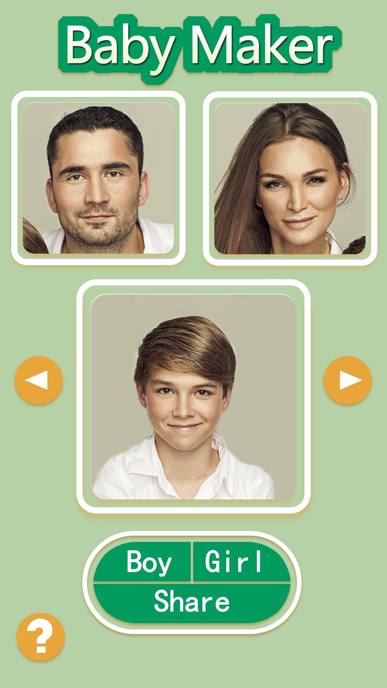 Baby Maker - Face Fusion Editor & Photo Effects Blender Screenshot