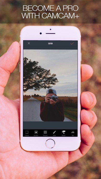 CamCam+ - Create Amazing Photos with Filters and Effects screenshot-3