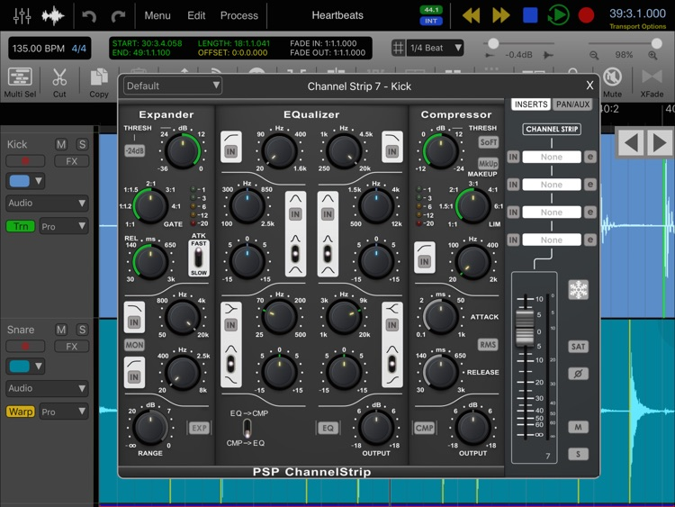 Auria Pro - Mobile Music Production screenshot-3