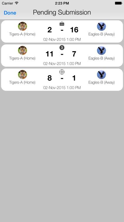 Badminton Scorecard screenshot-4