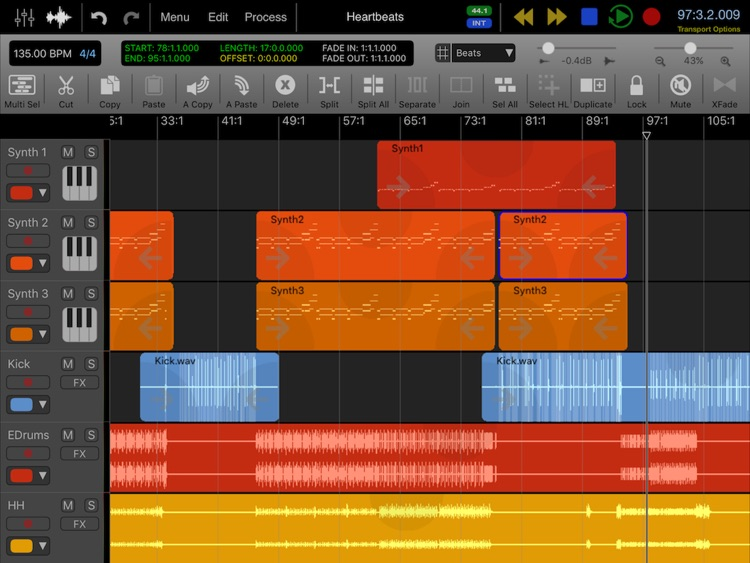 Auria Pro - Mobile Music Production screenshot-0