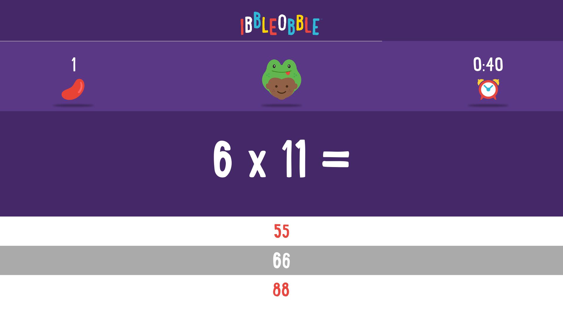 Multiplication with Ibbleobble screenshot 13