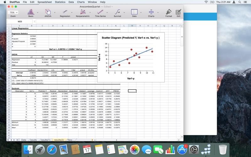 StatPlus for Mac
