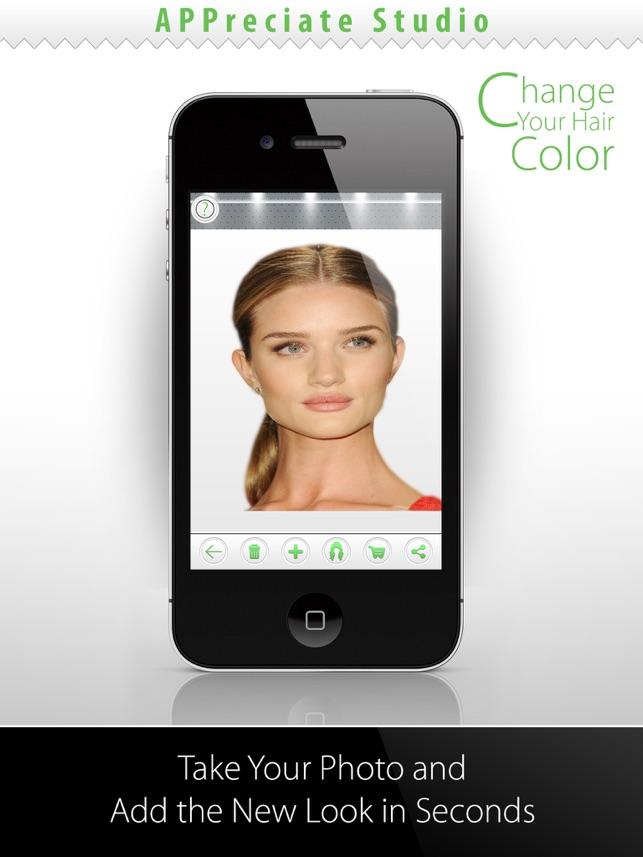 application ipad pour changer la couleur des cheveux coiffures populaires. Black Bedroom Furniture Sets. Home Design Ideas