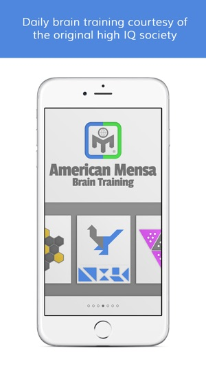 Mensa Brain Training on the App Store