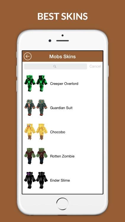 Best Skins PE - Girl, Boy and Animal skin for Minecraft screenshot-3