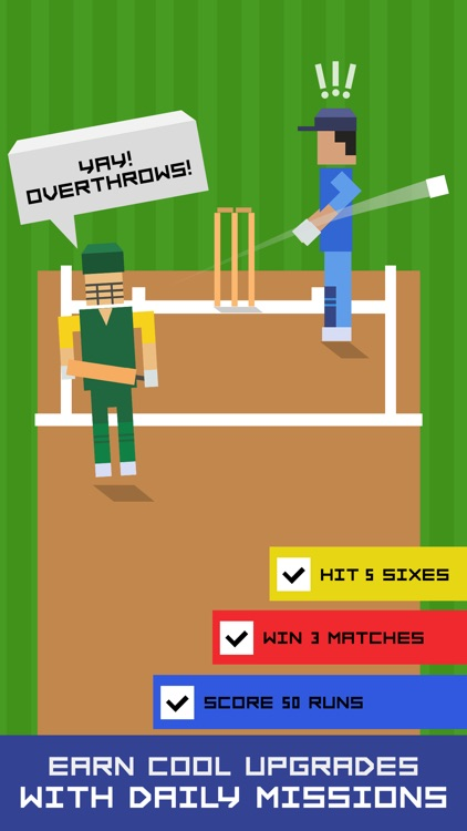 One More Run: Endless Cricket Runner screenshot-3