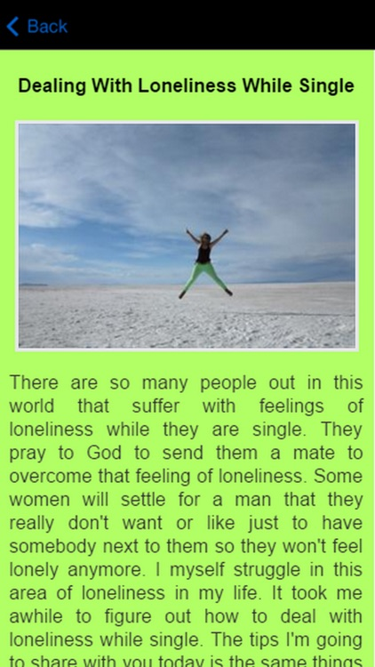 Dealing With Loneliness