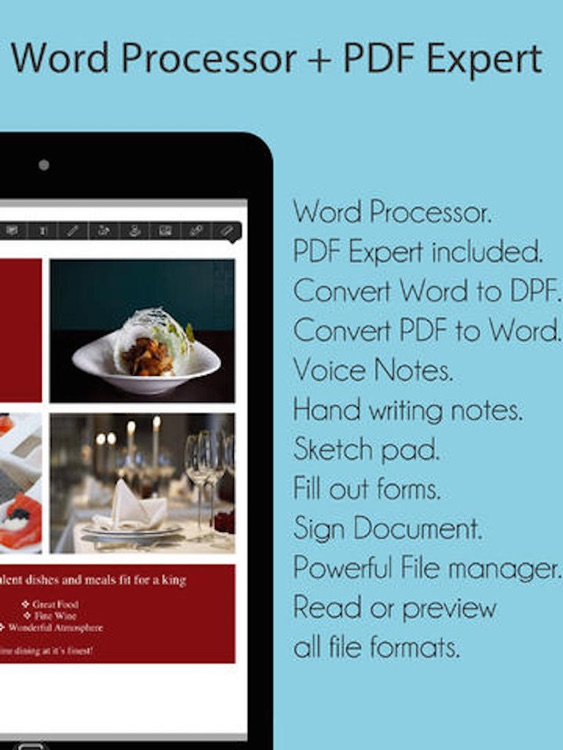 Word To Go Lite - for Microsoft Office Processor edition