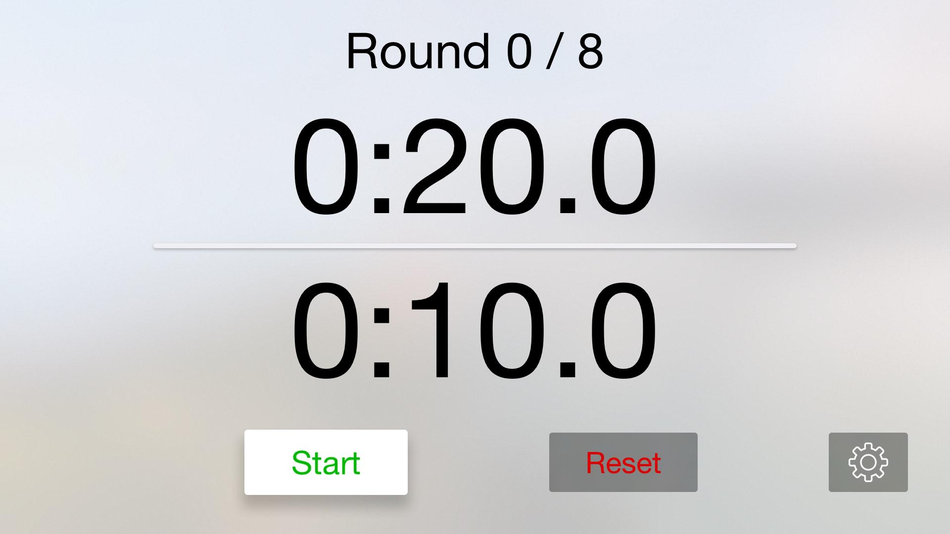 Workout Timer - HIIT and WOD screenshot 1