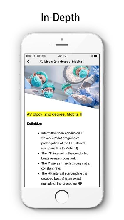 ECG A-Z Pro screenshot-3