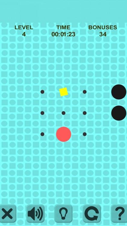 Simple Swipe. Red Ball screenshot-3