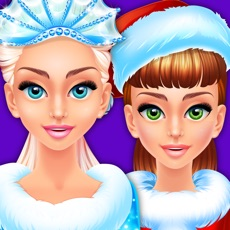 Activities of Frosty Christmas Beauty Salon - Makeover Spa Games
