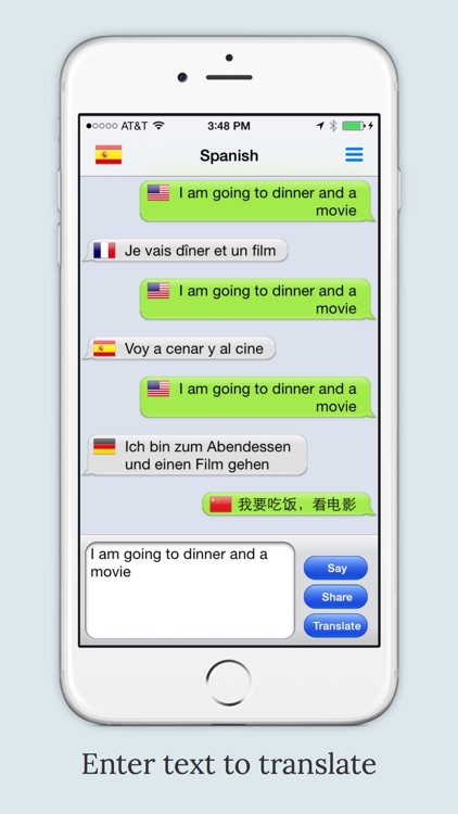 mText2Speech - Language Translator with Voice