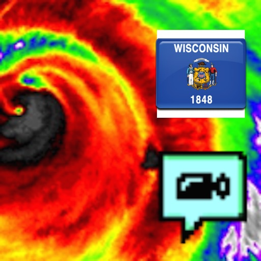 Wisconsin NOAA Radar with Traffic Cameras 3D Pro icon