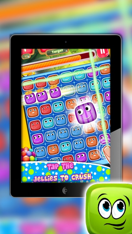 Jelly Link Crush - Match The Jellies - Jelly Cube Pipe Link Match - Awesome Jelly Bean Link - Connect the Candies