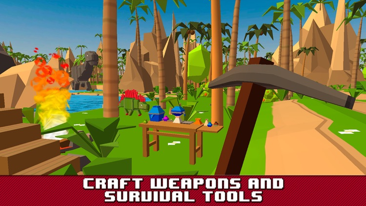 Dino Island Survival Simulator 3D screenshot-2