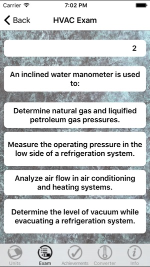 HVAC Training and Certification prep exam on the App Store