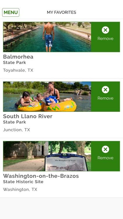 Texas State Park Guide screenshot-4