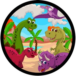 Learn English Via Jurassic Park Era Dinosaur Names Games for Kids