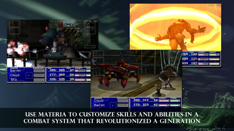FINAL FANTASY VII screenshot-3