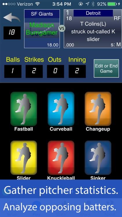 Pitcher Trakker for Baseball and Softball