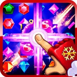 Magic Jewels Maze-Diamonds Clash Mania