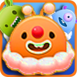 Funny Monster Egg Pop Game-A puzzle game