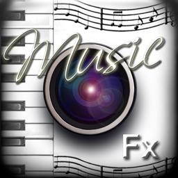 PhotoJus Music FX - Theme Overlay for Instagram