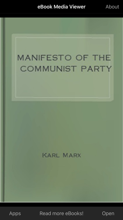 eBook: Manifesto of the Communist Party