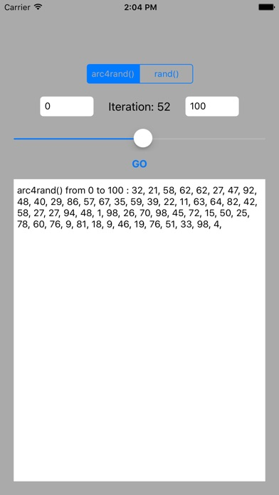 Screenshot #2 pour arc4rand()
