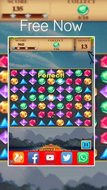 Jewel Unblock Puzzle - Jewel Diamond Edition