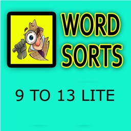 Word Sorts 9 to 13 Lite