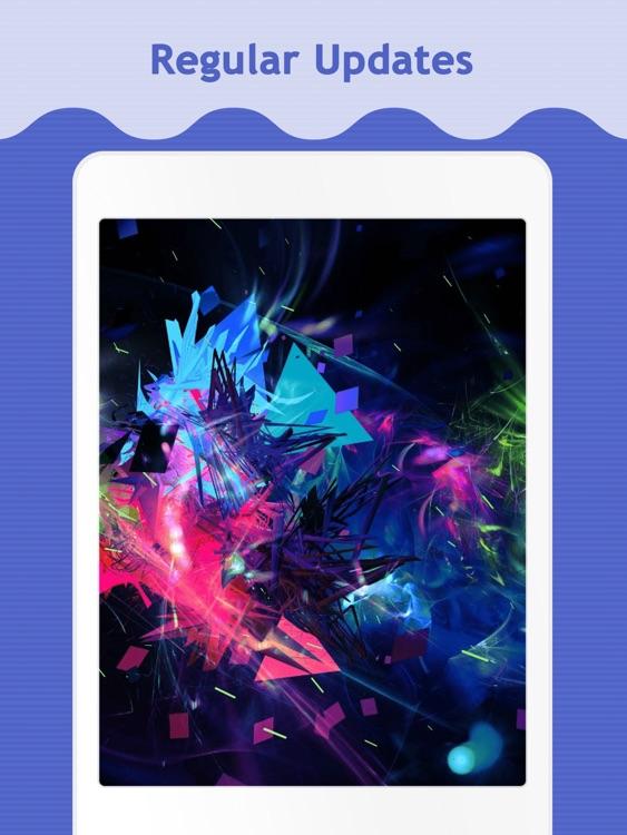 Color Splash Wallpapers for iPad screenshot-4