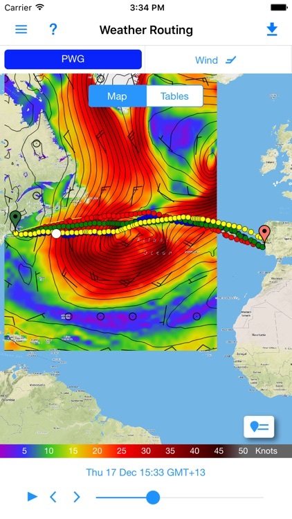 PredictWind Offshore Weather