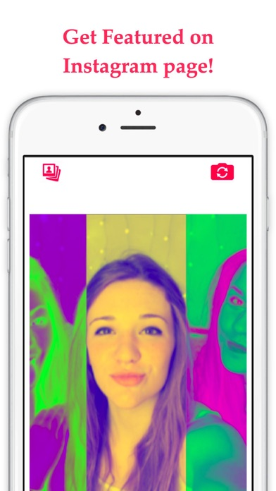 CamStar - Free Selfie Photo Effects for FB, PS Instagram & Snapchat Screenshot