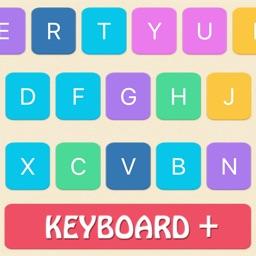 Keyboard Themes Plus - Stylish Keypad Skin with Colorful Background Design